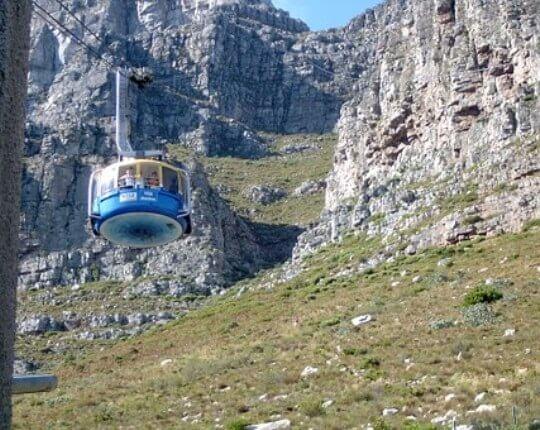 Table Mountain & City Tour